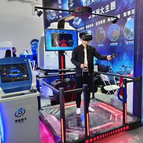 VR航空航天展首降常德欢乐城